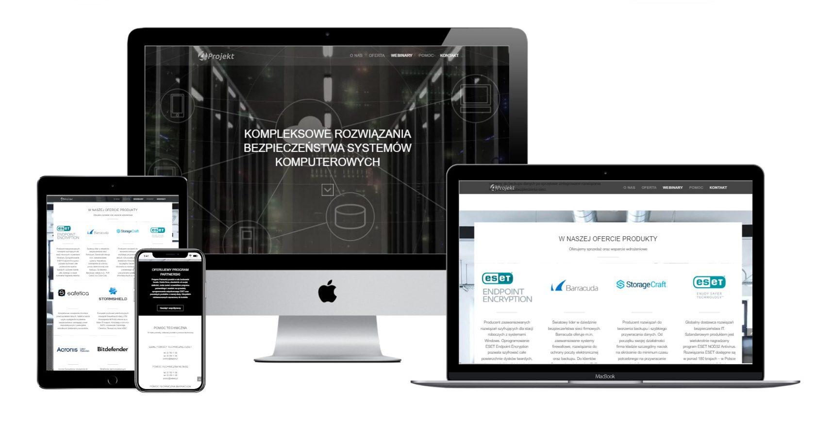 4Projekt - Rozwiązania bezpieczeństwa systemów komputerowych